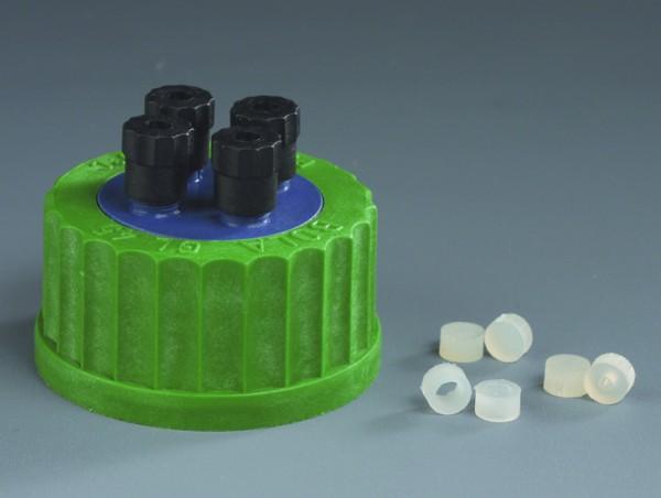 BOLA HPLC-Flaschenverteiler, PP, Silikon
