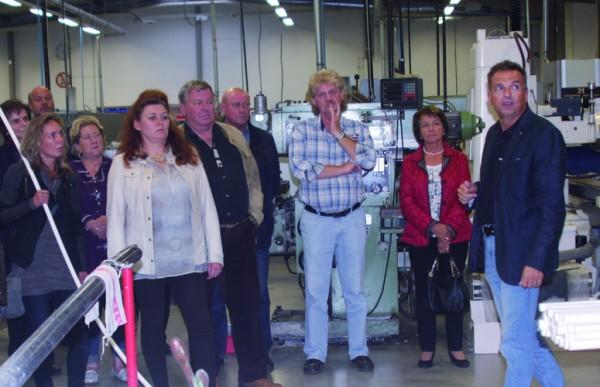 Messe-Aussteller zu Firmenbesuch bei der Bohlender GmbH