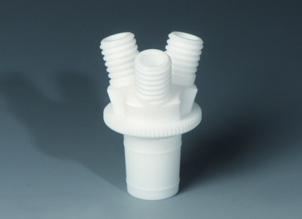 BOLA Reactor Multiple Distributor with ground joint, PTFE
