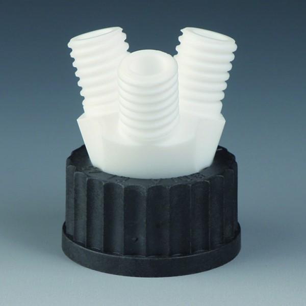 BOLA Flaschen-Mehrfachverteiler, PTFE, PPS /