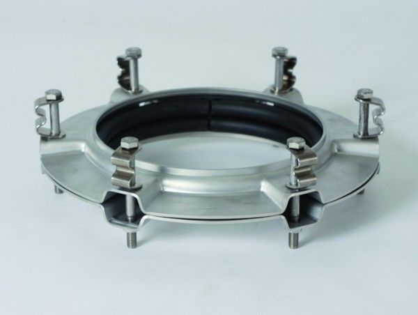 BOLA Flat Flange Joining Pieces, stainless steel