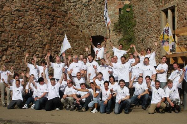 Team-Ausflug ins Mittelalter