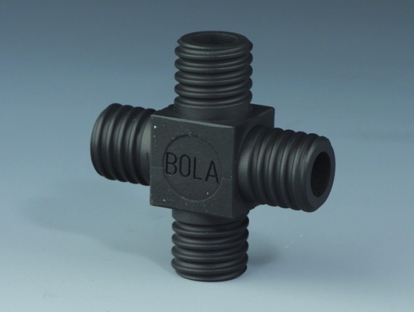 BOLA GL Tube Fittings Cross EX, PTFE EX