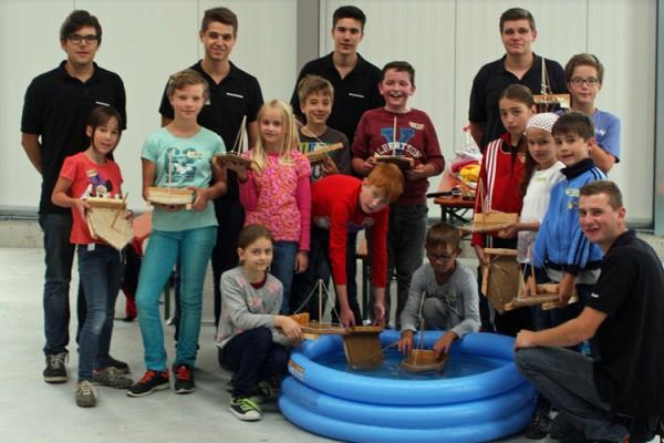 Ferienprogramm der Stadt Grünsfeld bei der BOHLENDER GmbH