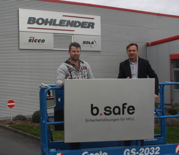 """Neue Marke """"b.safe"""" unter dem Dach der BOHLENDER GmbH"""