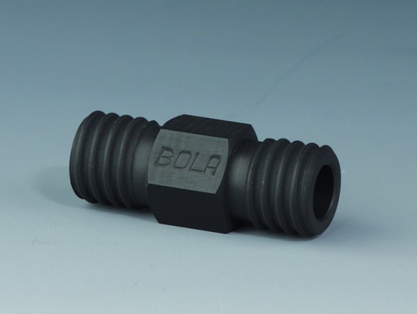 BOLA GL Tube Fittings EX, Straight, PTFE EX