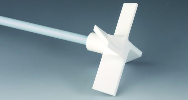 BOLA Propeller-Stirrer Shafts with 4 Blades, PTFE