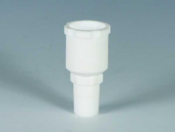 BOLA Screw In Connector with Ground Joint, PTFE