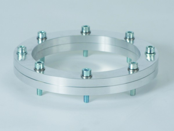 BOLA Planschliff-Verbindung, Aluminium