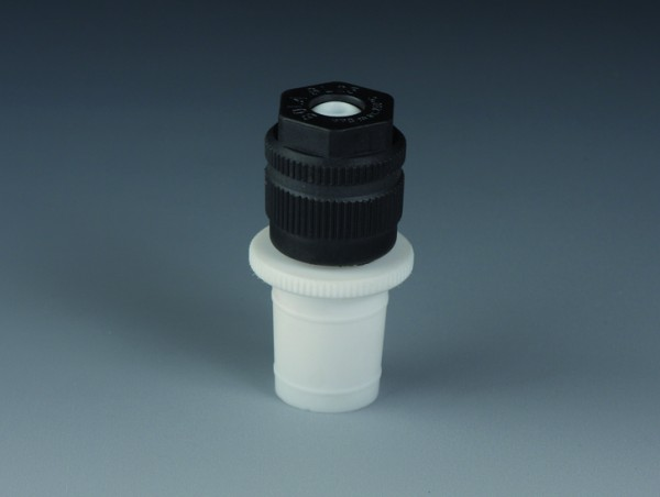 BOLA Swivelling Screw Fittings with Ground Joint, PTFE