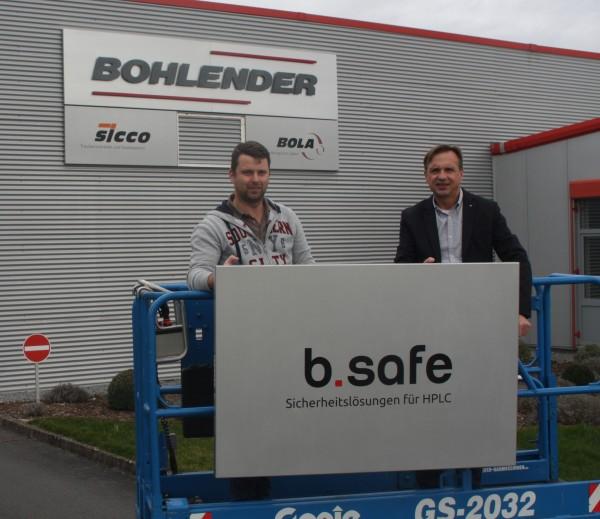 "NEW PRODUCT BRAND ""B.SAFE"" AT BOHLENDER GMBH"