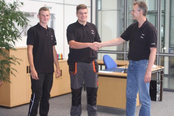Neue Auszubildende starten bei BOHLENDER ins Berufsleben