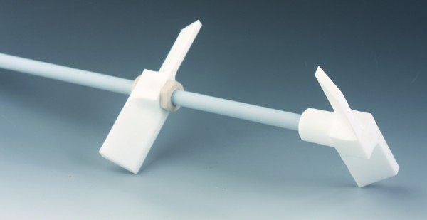 BOLA Stirrer Shafts with Two Paddles, PTFE