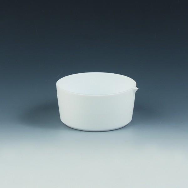 BOLA Abdampf-Schalen hohe Form mit Ausguss, PTFE